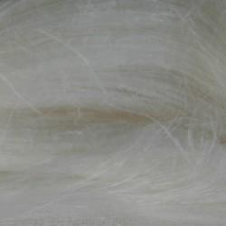 czesanka lniana biały